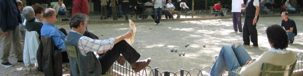 jeu de boules spelen